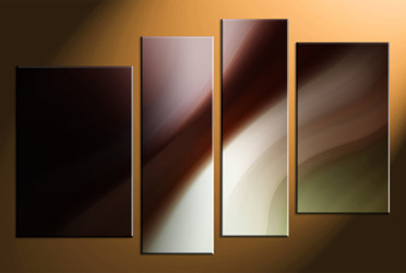 4 piece canvas photography, home decor art, brown modern huge pictures, oil paintings modern wall decor