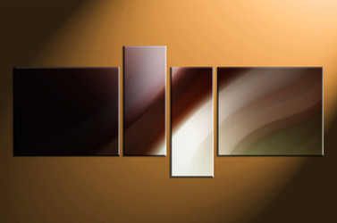 4 piece canvas photography, home decor art, brown modern canvas wall art, oil paintings modern huge pictures