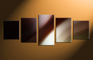 5 piece photo canvas, home decor artwork, brown modern multi panel canvas, modern oil paintings canvas photography