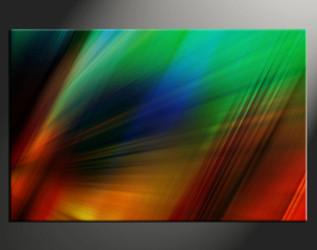 home decor,1 piece canvas art prints, green abstract photo canvas, abstract canvas photography, abstract large pictures