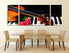 3 piece huge pictures. dining room group canvas, piano canvas wall art, musical instrument, canvas print