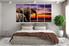 5 piece huge canvas art, bedroom photo canvas, elephant wall decor, animal artwork, wildlife group canvas