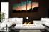 4 piece large pictures, living room wall art, landscape huge canvas print, brown multi panel art