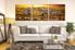 3 piece photo canvas, living room canvas wall art, zebra huge canvas art, wildlife group canvas, animal decor