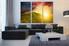 3 piece canvas art prints, living room wall decor, landscape artwork, orange canvas print, sunshine group canvas, mountain huge canvas print