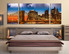 3 piece canvas photography, bedroom wall decor, city large pictures, city huge canvas art, city  art