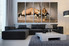5 piece large pictures, living room canvas wall art, waterbuck huge canvas art, animal multi panel canvas, wildlife photo canvas