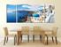 3 piece wall decor, dining room  wall art, city canvas print, white city canvas photography, city canvas print
