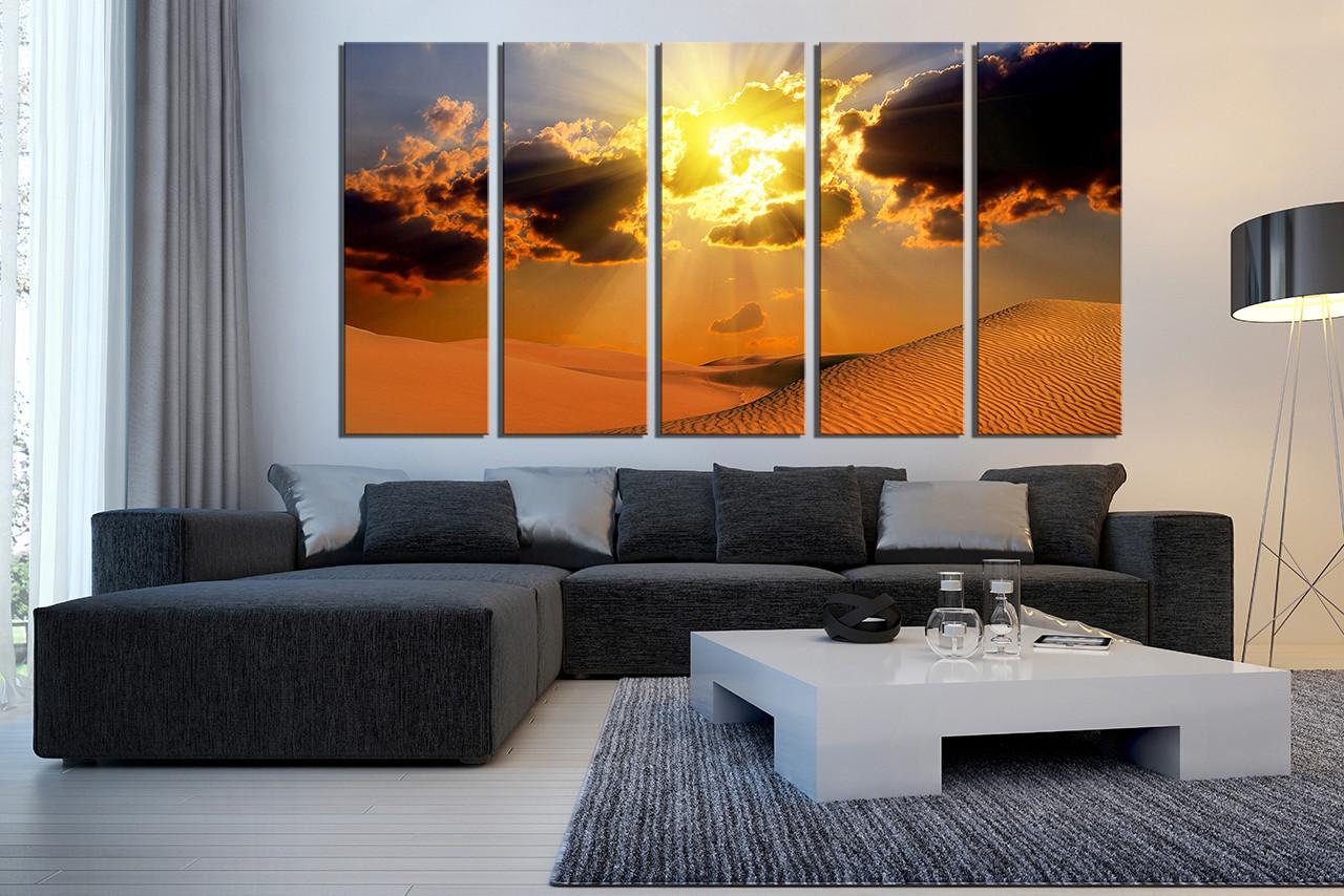 Good 5 Piece Canvas Photography, Living Room Wall Decor, Landscape Large  Pictures, Desert Artwork