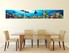 3 piece photo canvas dining room canvas wall art, fish huge canvas print, turtle multi panel art, wildlife decor