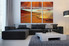 3 piece large canvas, brown sea multi panel canvas, ocean canvas photography, living room wall decor