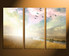 3 piece canvas print, home decor, bird large pictures, scenery multi panel canvas, nature photo canvas