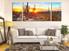 3 piece large pictures, living room multi panel canvas, scenery artwork, saguaro cactus huge canvas print, sunrise art, panoramic group canvas