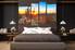 4 piece huge canvas art, bedroom large canvas, scenery canvas photography, saguaro cactus multi panel canvas, sunrise canvas wall art, nature huge pictures
