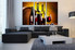 3 piece canvas wall art, wine large canvas, wine barrel pictures, wine huge pictures, living room artwork