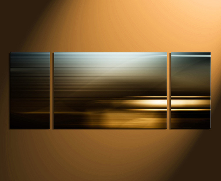 3 piece canvas wall art, modern wall art, abstract wall decor,brown canvas print, modern canvas huge print