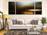 3 piece huge canvas art, modern canvas photography, brown multi panel canvas, living room multi panel art