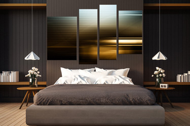 4 piece multi panel canvas, bedroom multi panel art, modern canvas art prints, modern large canvas