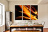 3 piece canvas photography, dining room large canvas, modern group canvas, brown abstract photo canvas