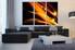 3 piece canvas wall art, modern wall art, living room wall decor, modern canvas print, brown huge canvas print