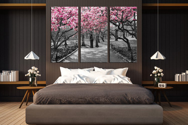 3 piece canvas photography, bedroom artwork, scenery photo canvas, grey canvas art prints, tree multi panel canvas