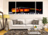 3 piece photo canvas, living room canvas art prints, violin wall decor, piano multi panel art, musical instruments canvas print, brown panoramic large canvas