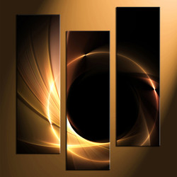 3 piece canvas print, home decor artwork, abstract photo canvas, abstract canvas photography, yellow abstract art
