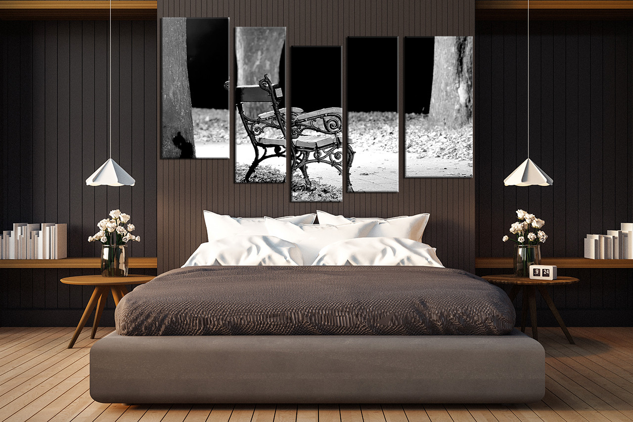 5 piece canvas photography bedroom canvas wall art modern pictures black and white