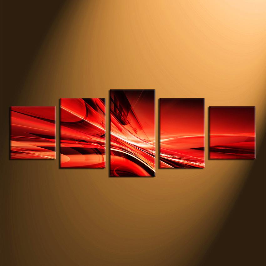 Abstract Multi Panel Art