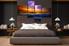 4 piece photo canvas, bedroom artwork, sea canvas wall art, orange wall decor, thunderstorm multi panel canvas