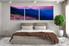 3 piece huge pictures, bedroom huge canvas print, landscape flowers group canvas, blue mountain multi panel canvas