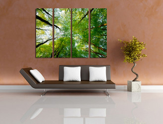 4 piece canvas photography, living room canvas print, scenery multi panel canvas, scenery photo canvas