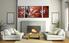3 piece canvas print, living room photo canvas, floral artwork, brown canvas print, panoramic huge canvas art