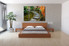 4 piece huge canvas art, bedroom large pictures, pathway art, green large pictures, scenery canvas wall art