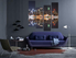 4 piece canvas wall art, living room large pictures, colorful artwork, new york city huge canvas art, cityscape photo canvas