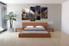 4 piece canvas art prints, bedroom canvas wall art, grey group canvas, cloud multi panel art