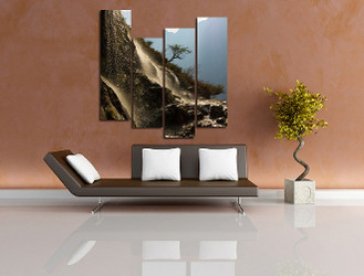 4 piece canvas wall art, living room canvas photography, landscape artwork, wildlife huge canvas print