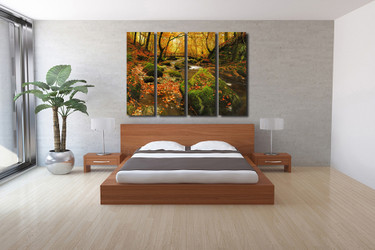 4 piece wall decor, bedroom large pictures, scenery group canvas, scenery canvas photography, scenery huge canvas art