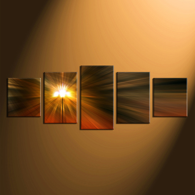 home decor, 5 piece huge pictures, orange canvas arts, abstract huge canvas art, abstract canvas wall art
