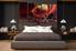 5 piece canvas wall art, bedroom huge canvas art, landscape large pictures, red landscape multi panel canvas