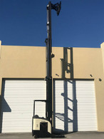 "2007 Crown Single Reach Truck 366"" and DEKA 36 Volt Load Tested Battery"