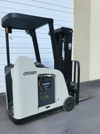 2009 Crown Electric Forklift RC5530C-30, Dockstocker, Narrow Aisle