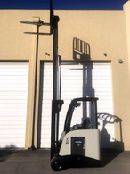 2011 Crown Electric Forklift RC5530-30, Dockstocker, Narrow Aisle Counterbalance