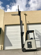2009 Crown Narrow Aisle Electric Forklift 3,000 Lb Capacity RC5500 Counterbalance