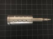 Side photo of 3M L161 Bone Graft Slotted Cutting Cylinder