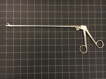 "Photo of Miltex 28-300 Yeoman Biopsy Forceps 10"" with Rotating Shaft"