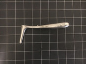 Side photo of Richards 55-0374 Hartmann Nasal Speculum