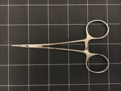 """Top view photo of Phoenix Instruments 115-4112 Curved Micro-Halsted Mosquito Forceps 5"""""""