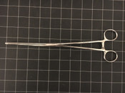 Photo of Miltex 7-622 Bozeman Sponge Forceps, Double Curved, 10.25""