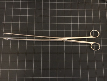 Photo of Aesculap BF135R Kelly Placenta Forceps, 12.25""